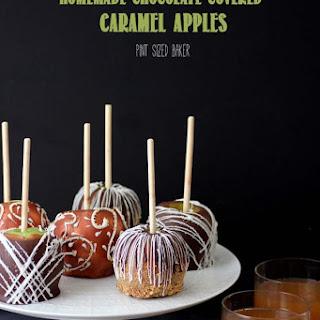 Chocolate Caramel Apples.