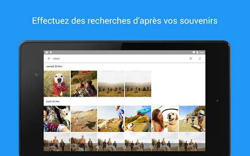 Google Photos Capture d'écran