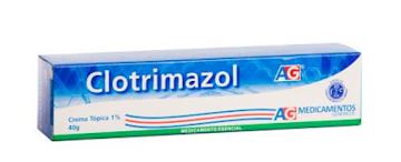 Clotrimazol AG 1% Crema   Caja x40g