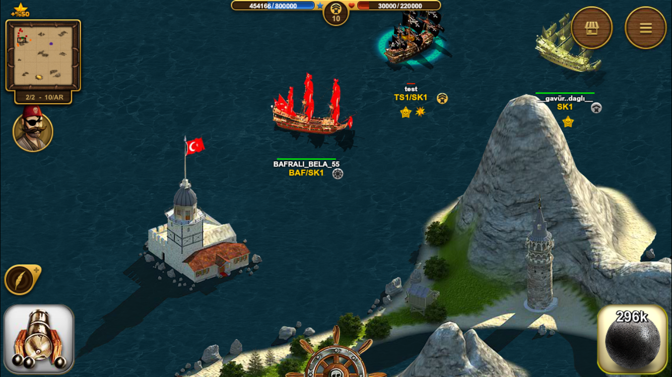 Screenshots of Son Korsan Pirate MMO for iPhone