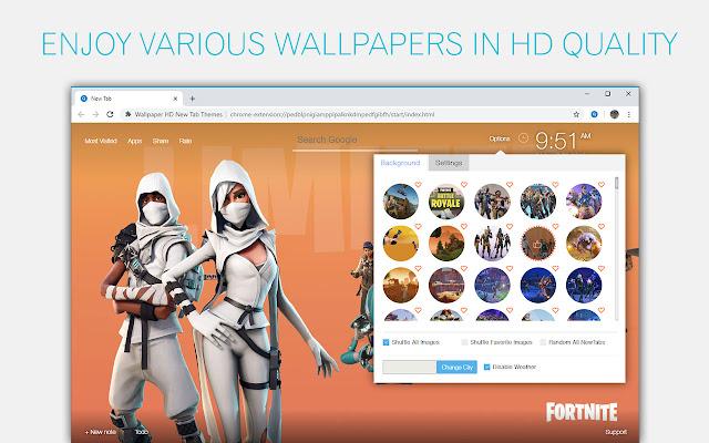 Fortnite Wallpaper Hd Custom New Tab