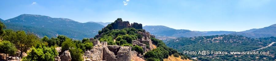 Крепость Нимрод. Экскурсии по Израилю.