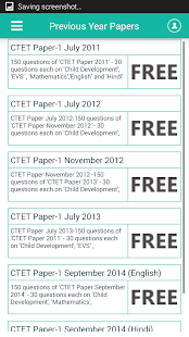 CTET Exam Preparation- screenshot thumbnail