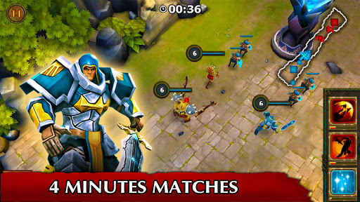 Legendary Heroes MOBA Offline screenshot 3