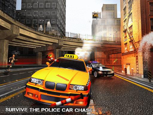 Pro TAXI Driver Crazy Car Rush  screenshots 6