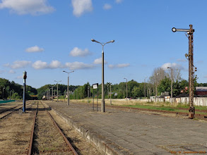 Photo: Infrastruktura stacyjna (część północna) {Kartuzy; 2013-07-17}