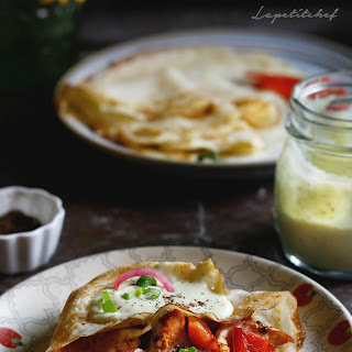 Crepes With Chicken Cream Sauce Recipes