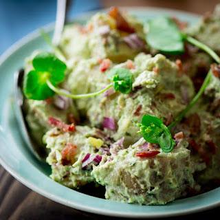 Pesto Bacon Potato Salad