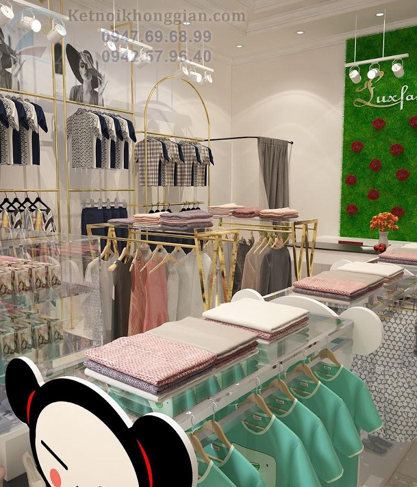 thiết kế shop mẹ và bé tối ưu không gian