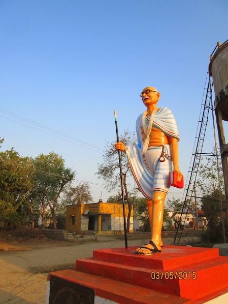 Mahatma Gandhi Status, D.Dharmaram