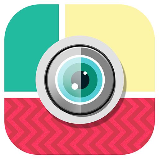 摄影の写真のコラージュ LOGO-記事Game