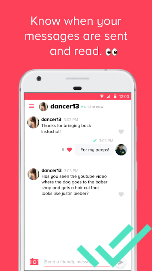 Instachat- screenshot