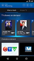 Screenshot of Bell Fibe TV