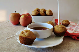 Photo: Apple Cider Baked Donuts - A light, fluffy, healthy baked donut, made with fresh apples, apple cider,and greek yogurt.  http://www.peanutbutterandpeppers.com/2012/11/05/national-donut-day-yah/  #donuts   #baked   #apple   #cinnamon   #doughnut   #lowcalories