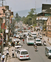 Photo: Das übliche Verkehrschaos in Nepals Hauptstadt