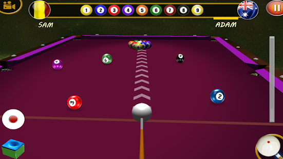 Master pool 8 ball billiards Screenshot