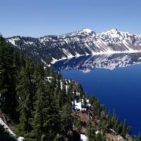 Crater Lake by Jan Davis - Uncategorized All Uncategorized