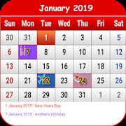 UK Calendar 2019