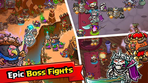 Crazy Defense Heroes: Tower Defense Strategy Game apktram screenshots 5