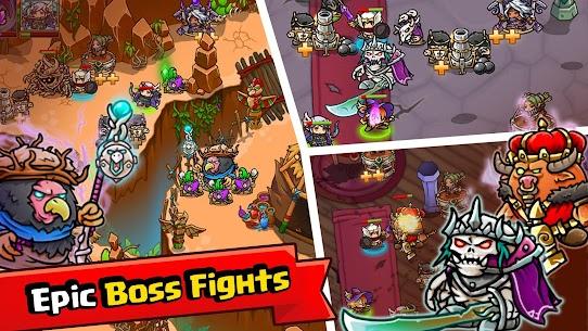 Crazy Defense Heroes MOD (Unlimited Money) 5