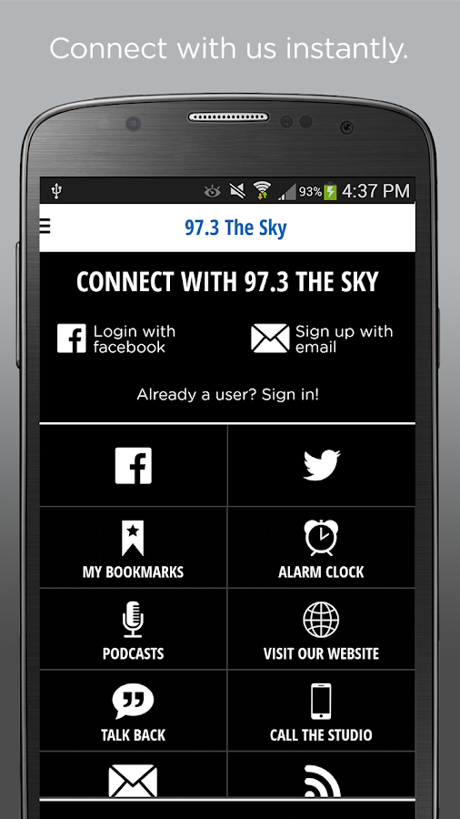 WSKY 97.3 FM NEWS TALK- screenshot