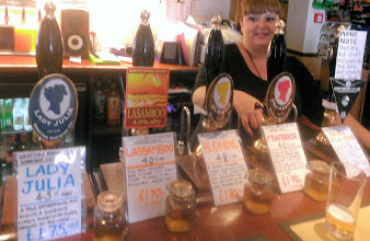 Photo: You get plenty of information on each beer! Note those prices, too. (Photo taken by Simon Chappell)