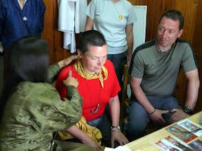 Photo: beim traditionellen bhutanischen (tibetischen) Arzt