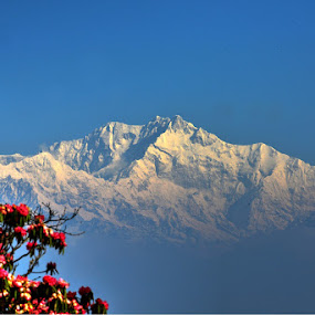 The Kanchenjungha by Rakesh Das - Landscapes Mountains & Hills