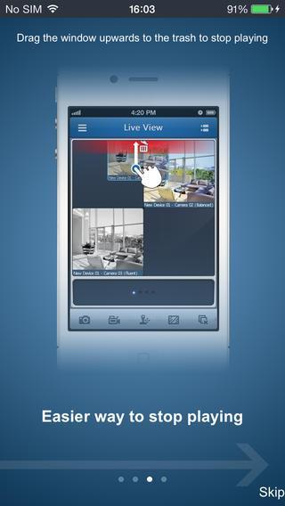 Скриншот SmartWatch Remote Viewer-Phone