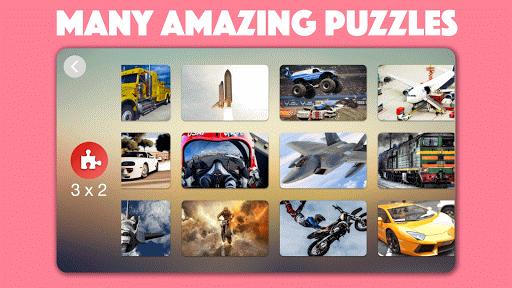 Vehicle, Cars, Trucks, & Trains Jigsaw Puzzles ud83dude97  screenshots 2