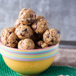 Honey and Peanut Butter Energy Balls