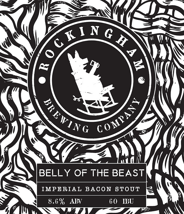 Logo of Rockingham Brewing Company Belly Of The Beast