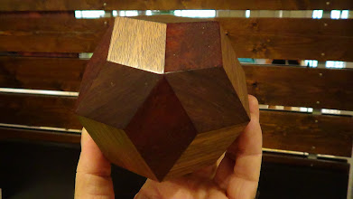 Photo: Rhombic triacontahedron, by Bob Rollings.