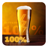 Beer Battery Widget