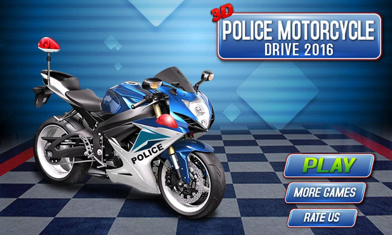 3D Police Motorcycle Race 2016 - Android Apps on Google Play