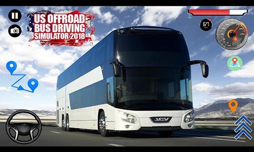 US Offroad Bus Driving Simulator 2018 1.0.1 screenshots 10