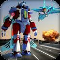 Airplane Robot Transformation icon