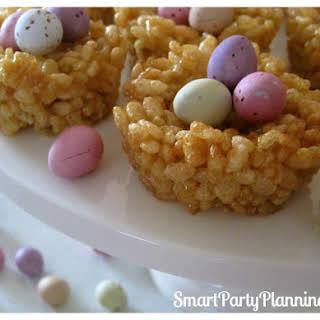 Honey Joys as Cute Easter Desserts.