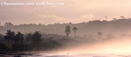 Photo: busua beach, lumière du petit matin Ghana