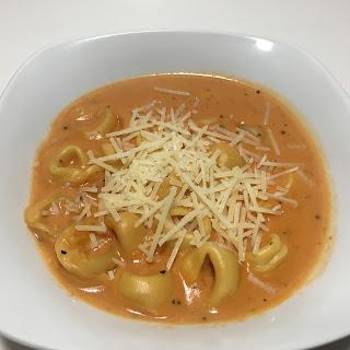 Creamy Tomato Tortellini Soup Recipe