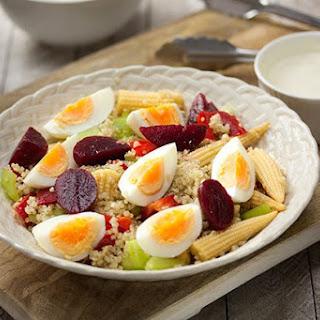 Egg Salad with Quinoa