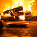 Crackling Fire Sounds: Relaxing Fireplace HD icon