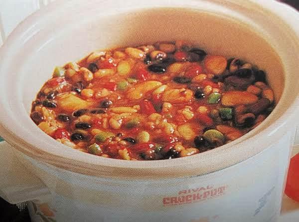 Partytime Beans - Crock Pot Recipe