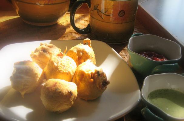 Aloo Bonda ~ Fried-Batter Covered-Spicy Potato Dumplings Recipe