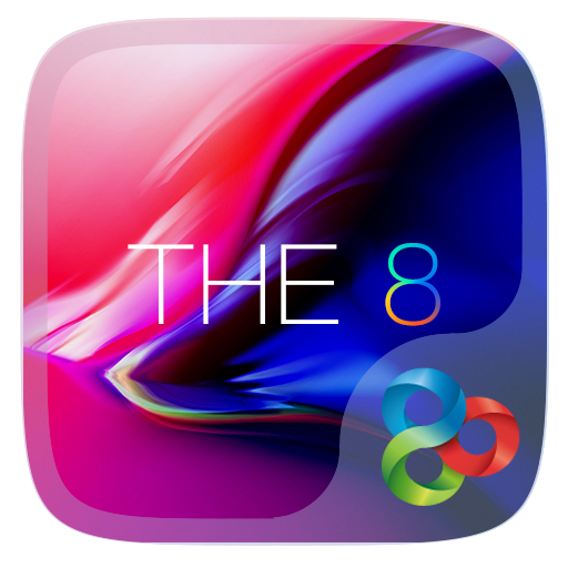 The 8 Go Launcher Theme