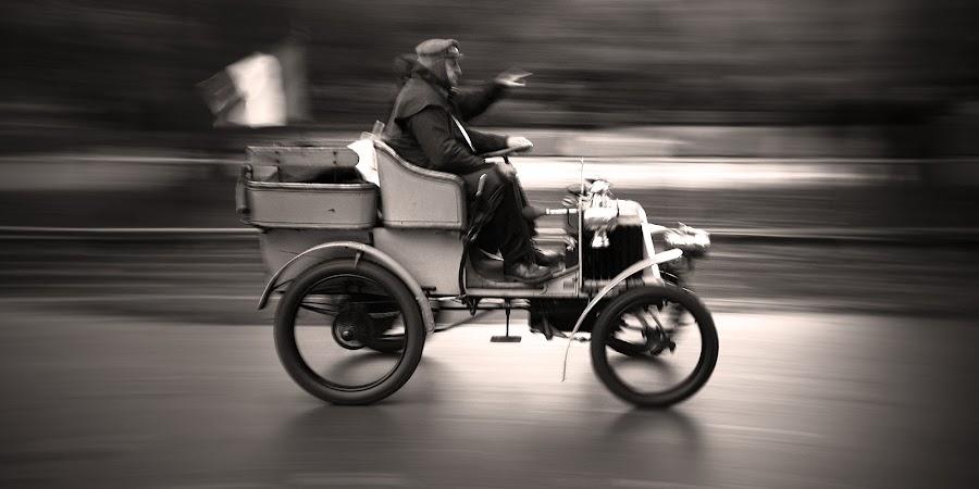 Veteran Car by Jeremy Farrance - Transportation Automobiles