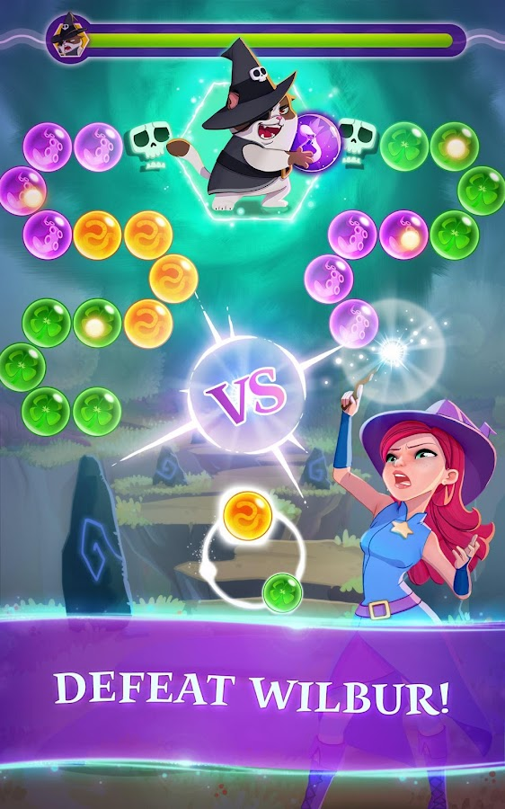 Bubble Witch 3 Saga- screenshot