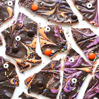 Spooky Layered Halloween Bark.