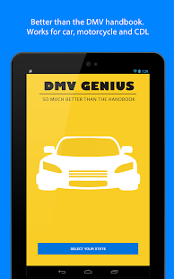 DMV Genie Permit Practice Test- screenshot thumbnail