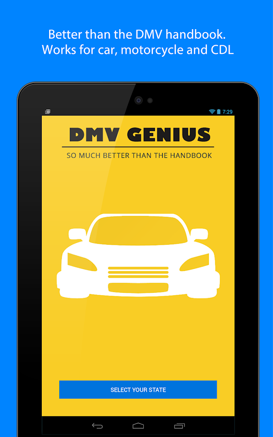 DMV Genie Permit Practice Test- screenshot